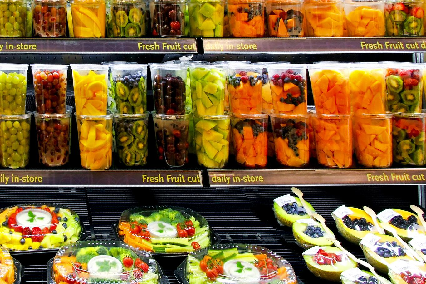 Make A Simple Display On Fat Content In Foods